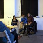 Da sinistra: Claudia Mignone, Davide Valenti, Joerg De Bernardi