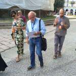 Ermanno Cristini 'Quattro movimenti per perdere tempo' -Les Sublimes Archive_conferenza passeggiando_ Arco della Pace-