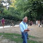 Ermanno Cristini 'Quattro movimenti per perdere tempo' -Les Sublimes Archive_conferenza passeggiando_ Parco Sempione