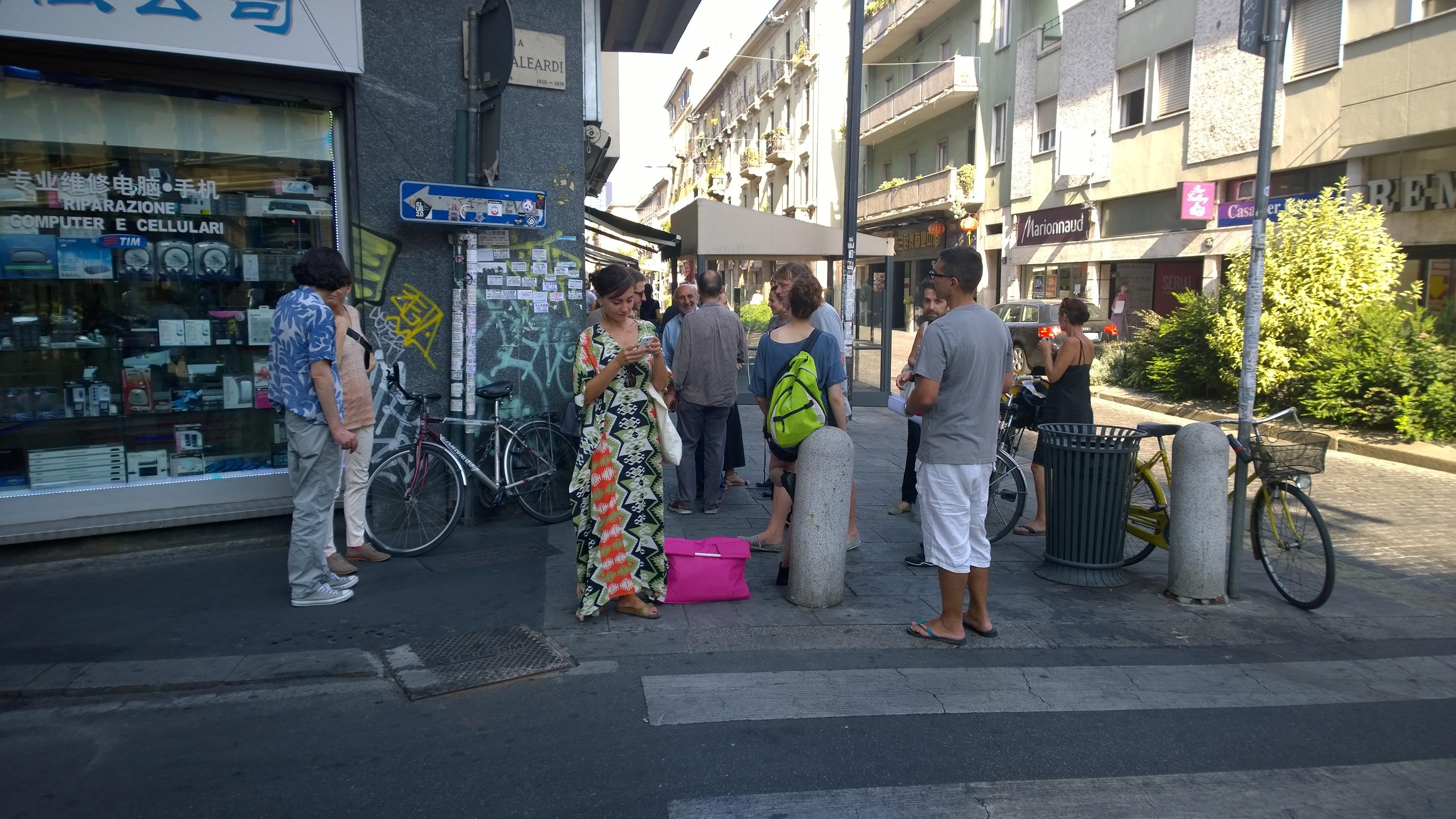 meeting point-Via Aleardi/Paolo Sarpi