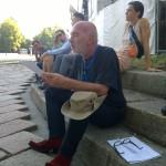- I lunedì dei Sublimi_documenti e materiali Giampaolo Capisani -Les Sublimes Archive_conferenza passeggiando_ Arco della Pace
