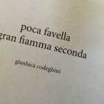 Gianluca Codeghini - poca favella gran fiamma seconda