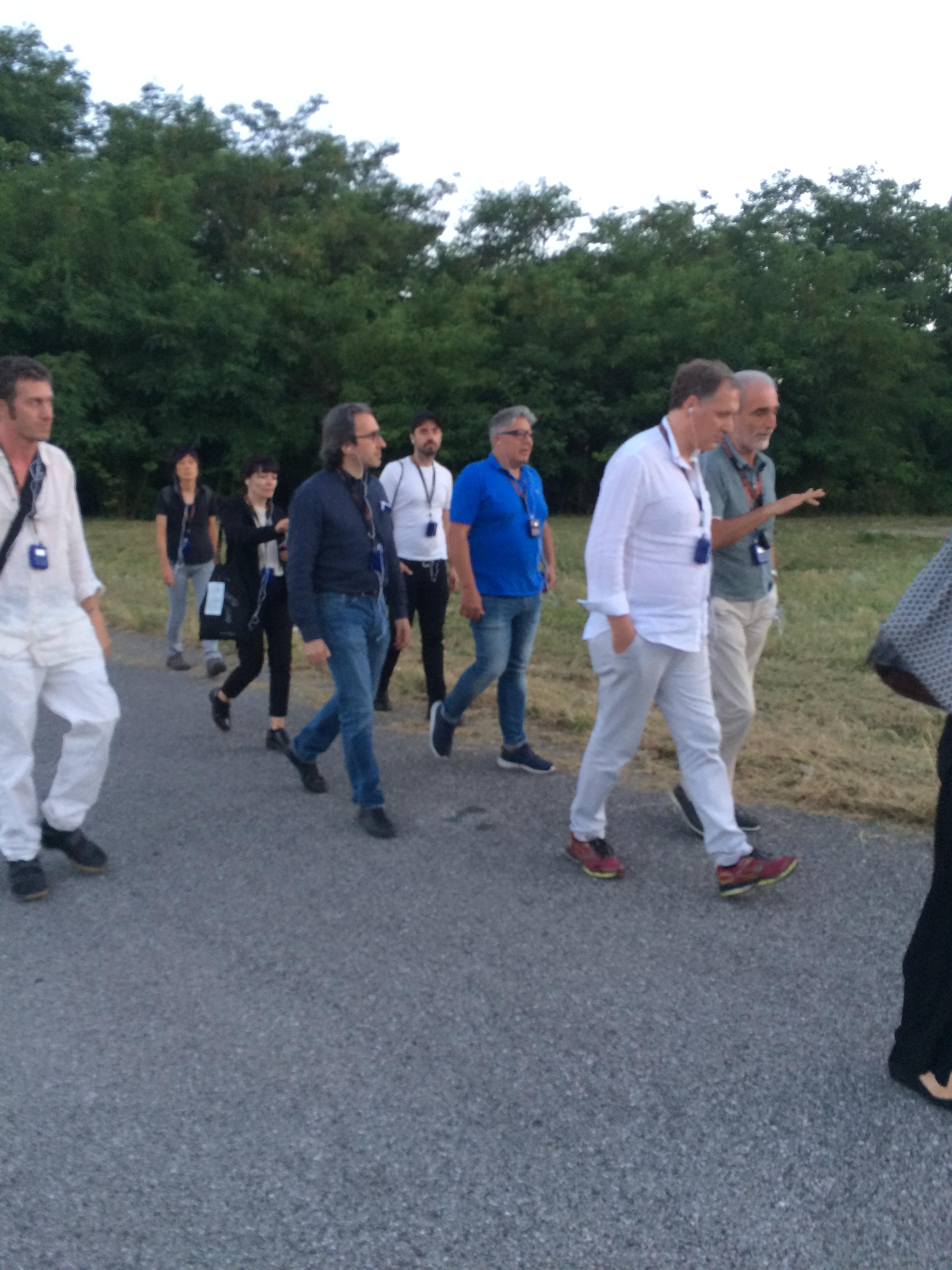 Doping ed antidoping – Ettore Bacchini (medico dello sport) lasciando la ex concessionaria Opel