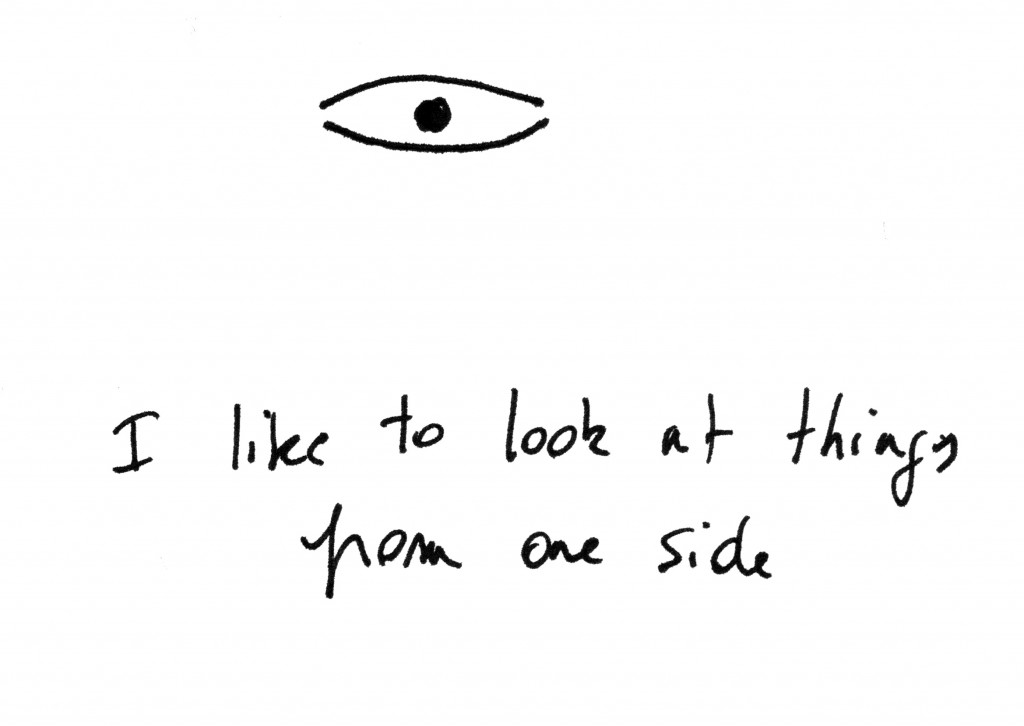 SillyPoems third eye