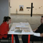 Silvia e Gianluca al tavolo di Measuring