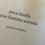 Gianluca Codeghini - poca favella gran fiamma seconda