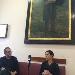 Gianluca Codeghini-SabineDelafon-Dialoghisultempo-phGianniRomano