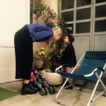 Apparatus 22 (Maria and Lili) enjoying the Senseless Residency